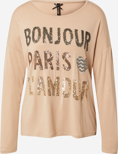 Key Largo Shirt in camel / kupfer / gold / silber, Produktansicht