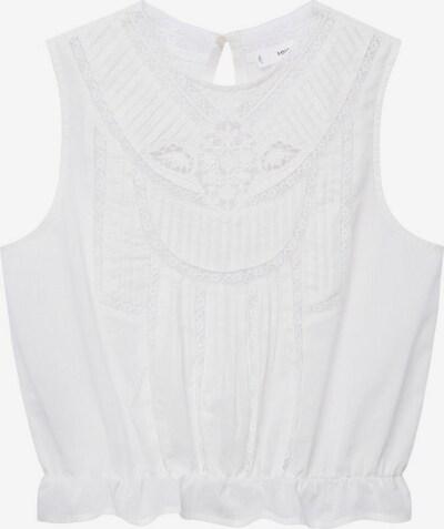 MANGO Bluse 'Yasmina' in weiß, Produktansicht