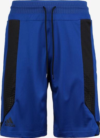 ADIDAS PERFORMANCE Pantalon de sport en bleu / noir, Vue avec produit