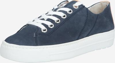 Sneaker low Paul Green pe albastru porumbel / maro deschis, Vizualizare produs