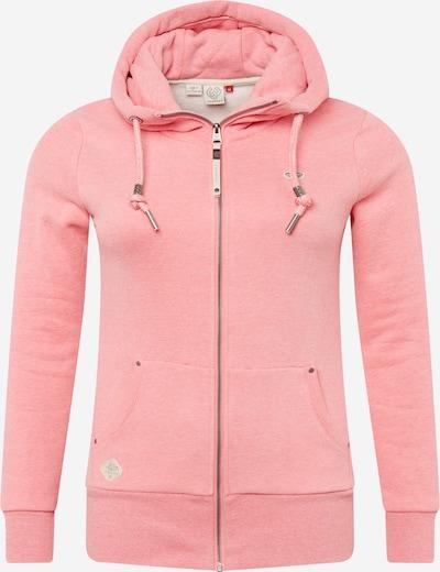 Ragwear Plus Veste de survêtement 'NESKA' en rose, Vue avec produit