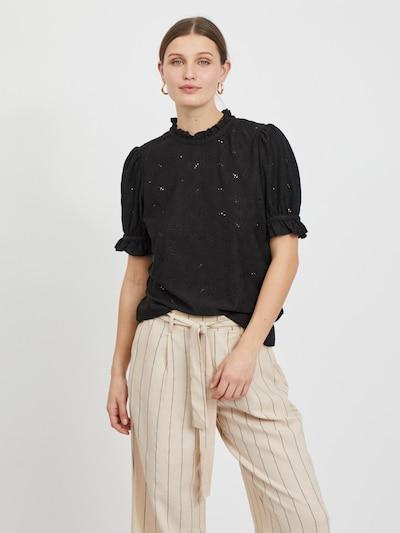 VILA Blouse 'KIWI' in de kleur Zwart, Modelweergave