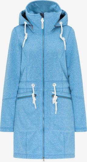ICEBOUND Mantel in blaumeliert, Produktansicht
