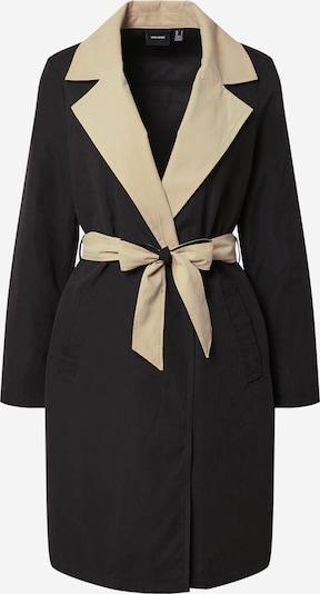VERO MODA Overgangsfrakke i beige / sort, Produktvisning