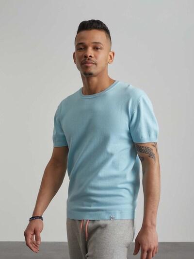 ABOUT YOU x Benny Cristo Trui 'Bastian' in de kleur Blauw: Vooraanzicht