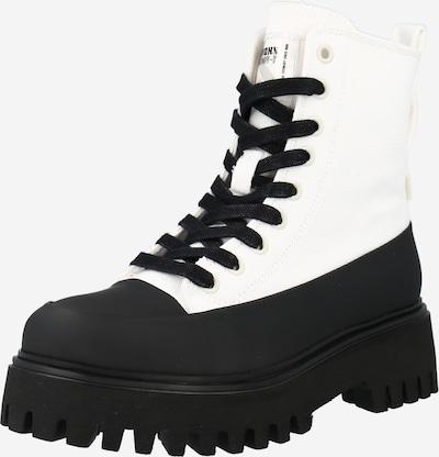 BRONX Stiefelette in schwarz / offwhite, Produktansicht
