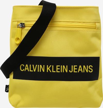 Calvin Klein Jeans Sac à bandoulière en jaune / noir, Vue avec produit