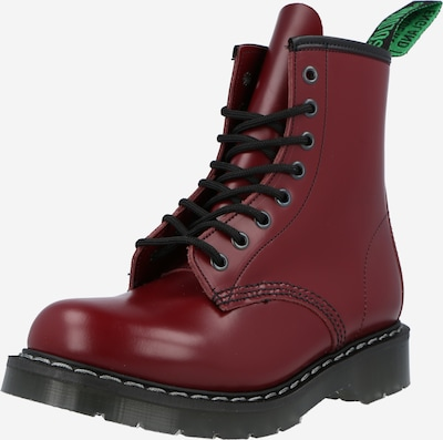 Solovair Lace-up bootie in Cherry red, Item view