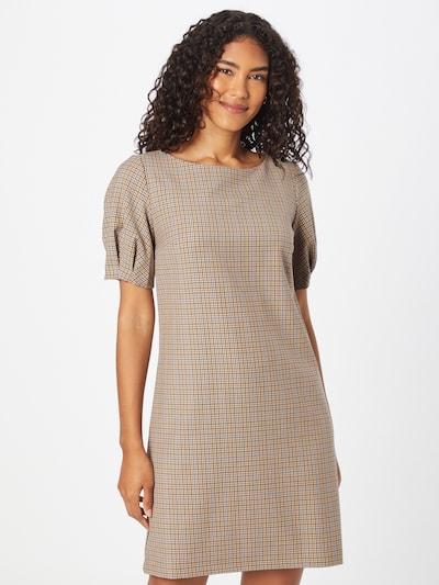 UNITED COLORS OF BENETTON Šaty - světlemodrá / světle hnědá / bílá, Model/ka