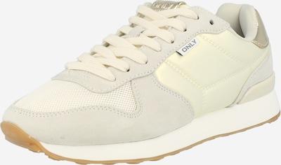 krém / arany / világosszürke ONLY Rövid szárú edzőcipők 'SAHEL 4', Termék nézet