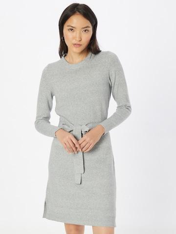 PIECES Gebreide jurk 'Cava' in Grijs