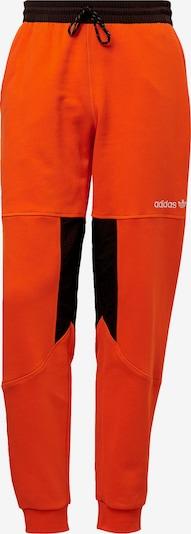 ADIDAS ORIGINALS Outdoorhose  'Adventure Field' in orange / schwarz: Frontalansicht