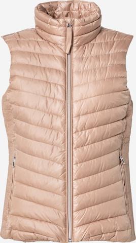 TOM TAILOR Vest in Beige