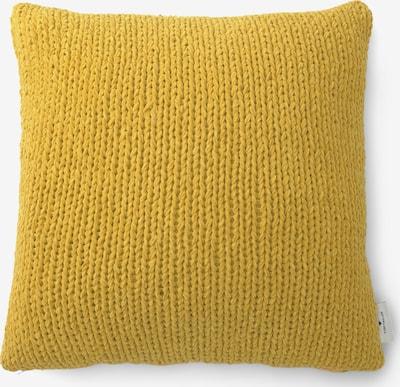 TOM TAILOR Home Gestrickte Kissenhülle in gelb, Produktansicht