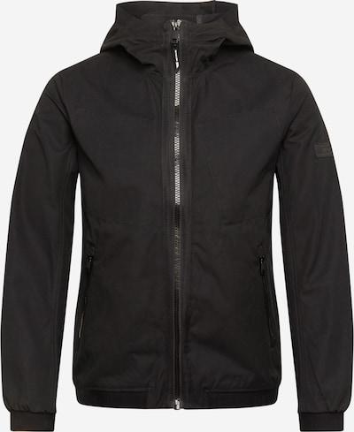 TOM TAILOR DENIM Übergangsjacke in schwarz, Produktansicht