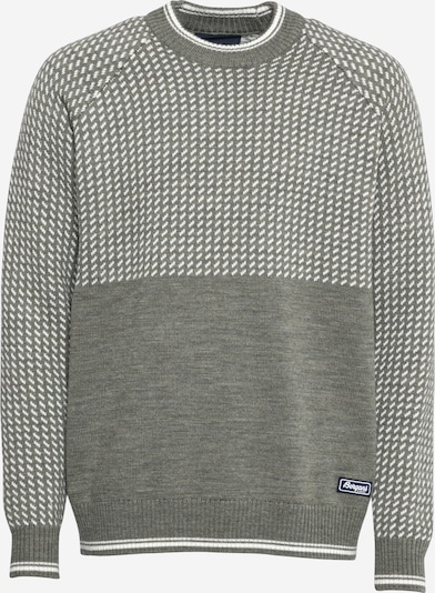 Bergans Športový sveter 'Alvdal' - kaki / biela, Produkt