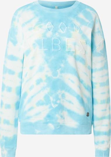 Key Largo Sweatshirt in hellblau / weiß, Produktansicht