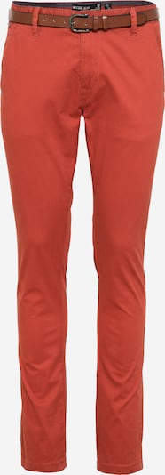 INDICODE JEANS Chino trousers 'GOWER' in Orange red, Item view