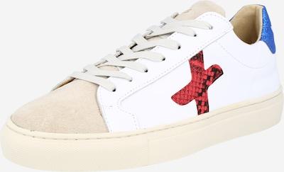 New Lab Sneaker in beige / blau / rot / weiß, Produktansicht