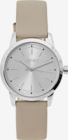 ESPRIT Analoog horloge in de kleur Beige / Grijs, Productweergave