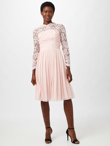 Chi Chi London Cocktail Dress in Pink