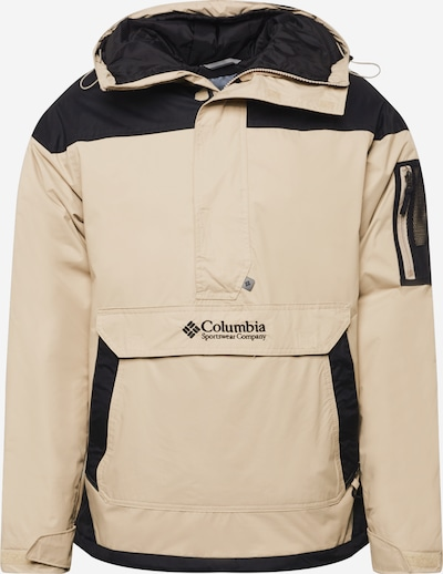 COLUMBIA Outdoor jacket 'Challenger PO-Ancient Fossil' in Beige / Black, Item view