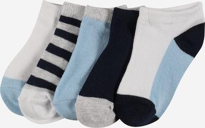 Șosete Cotton On pe albastru noapte / albastru deschis / gri / alb, Vizualizare produs