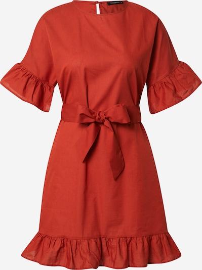 Trendyol Robe en rouge orangé, Vue avec produit