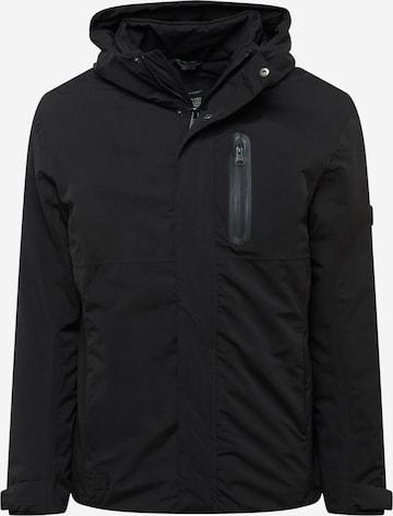 Ragwear Winter jacket 'HARUCY' in Black