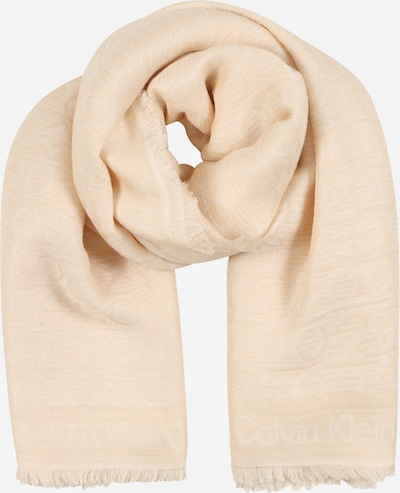 Calvin Klein Sjal i creme, Produktvisning