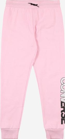 CONVERSE Hose in rosa / schwarz / offwhite, Produktansicht