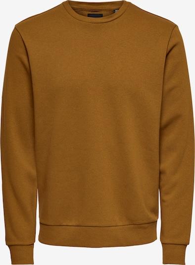 Only & Sons Sweatshirt 'Ceres' in karamell, Produktansicht