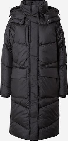 TOM TAILOR DENIM Winter coat in Black