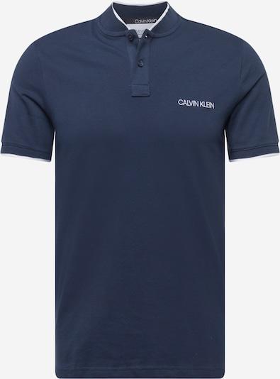 Calvin Klein T-Shirt en bleu marine / blanc, Vue avec produit
