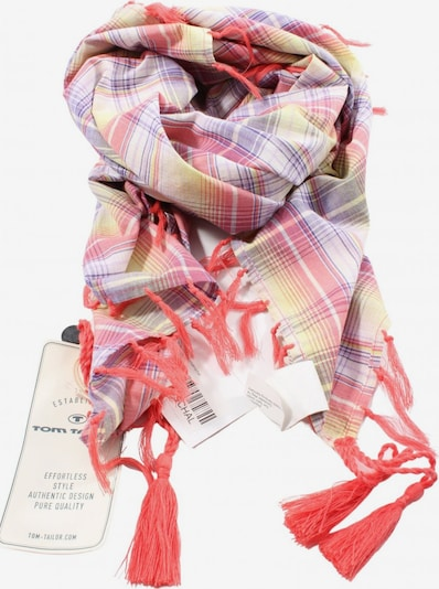 TOM TAILOR Scarf & Wrap in One size in Purple / Red / White, Item view