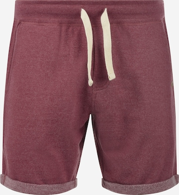 BLEND Sweatshorts 'Timo' in Rot