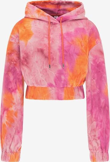 myMo ATHLSR Sweatshirt in orange / pink / hellpink, Produktansicht