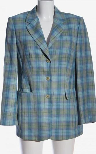 GIL BRET Leder-Blazer in M in blau / khaki, Produktansicht