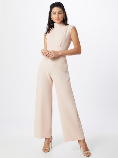 Closet London Jumpsuit in rosé, Modelansicht