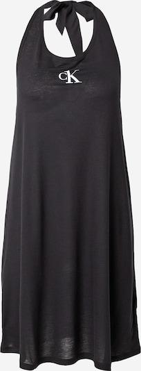 Calvin Klein Swimwear Strandkleid in schwarz / weiß, Produktansicht