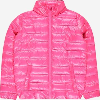 4F Outdoorjas in de kleur Neonroze, Productweergave