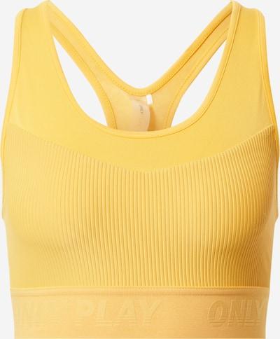 ONLY PLAY Sport bh 'MINEL' in de kleur Safraan, Productweergave