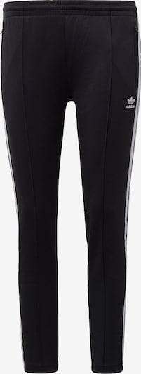 Pantaloni ADIDAS ORIGINALS pe negru / alb, Vizualizare produs
