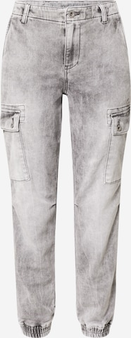 Soccx Klapptaskutega teksapüksid 'CAR:LA', värv hall