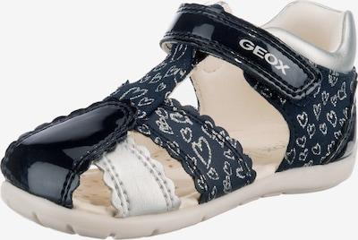 GEOX Sandale 'Elthan' in dunkelblau / silber, Produktansicht