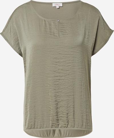 s.Oliver Shirt in de kleur Kaki, Productweergave