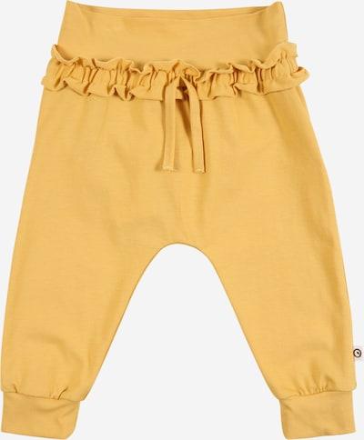 Pantaloni 'Cozy Me' Müsli by GREEN COTTON pe galben, Vizualizare produs