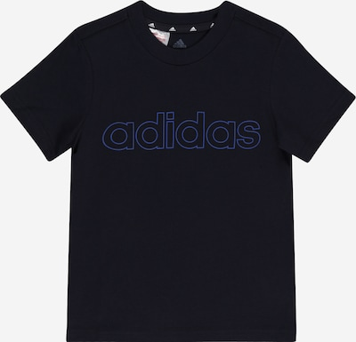 ADIDAS PERFORMANCE Funktionsshirt 'LIN' en blau / schwarz, Vue avec produit