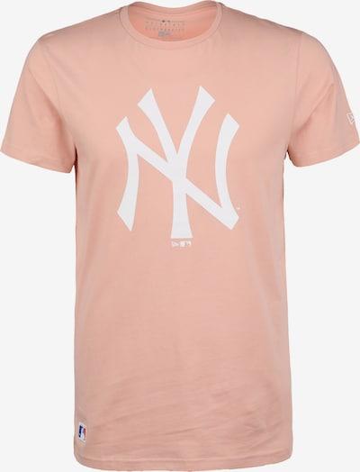 NEW ERA T-Shirt 'MLB New York Yankees Seasonal' in altrosa / weiß, Produktansicht