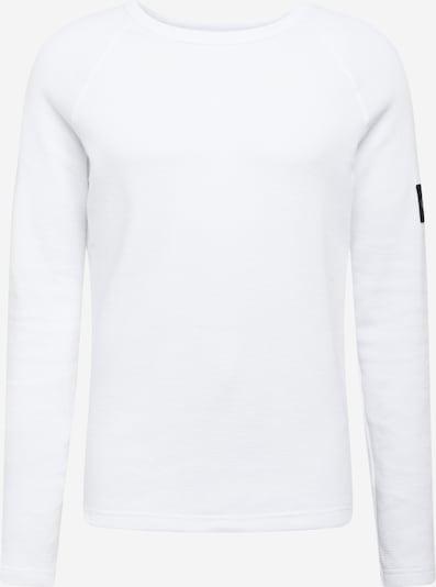 Tricou Calvin Klein Jeans pe alb: Privire frontală